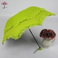 Vintage royal 2014 wind sun protection umbrella lace bag umbrella folding umbrella
