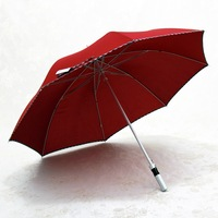 Ultralarge ode ultra-light umbrellas double lovers umbrella straight commercial umbrella