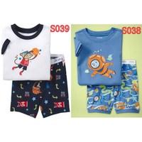 Free Shipping kids short clothes set boys kids short  pajama set,cartoon children pyjamas, toddler sleepwear 2T-7T