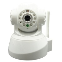 Plug and Play PNP Wireless IP Camera 10m Night vision Pan /Tilt Motion Detection AP001 White Two-Way Audio  F1054B  Eshow