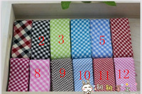 3.5cm Cotton Unfolded Gingham Check Bias Binding Tapes,Grid printed Cotton Patchwork Binding,Webbing Tape 32 meter Free shipping