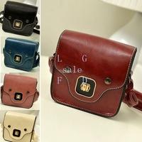 2014 HOT SALE New Vintage Women's Handbag Cute Synthetic Leather Shoulder Bag Dinner Party 15634 F