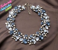 High quality statement necklace and pendants vintage women accessories elegant design 1127