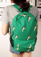 New arrival 2014 ok pattern small fresh backpack school bag