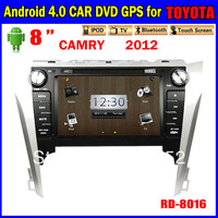 free shipping navigation 8inch Andriod Car dvd gps for TOYOTA CAMRY  Car Radio TOUCH SCREEN 3G Wifi Bluetooth TV IPOD