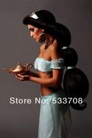 New Lamp princess jasmine cosplay clothes cos women's
