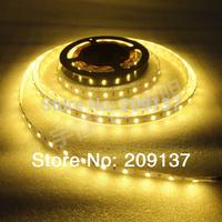 Free shipping 5m 300 LED 5730 SMD 12V flexible light 60 led/m, NON-WATERPROOF LED strip white/warm white