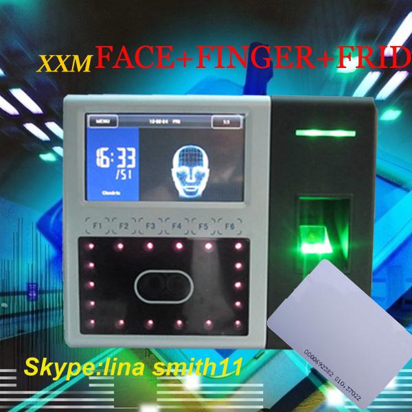 Viso eimpronte digitali& ID card presenza di tempo e controllo di accessoiface302/id