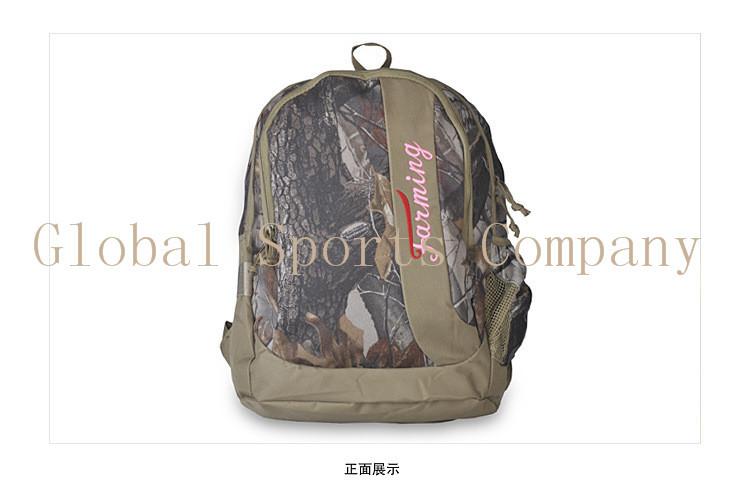 Camouflage Sports Bags knapsack backpack shoulder bag Bag Multi-functional Hunting Fishing Bag Free Shipping(China (Mainland))