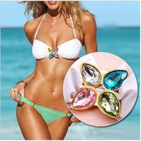 Bikini Sexy Lingerie Swimming Suits Crystal Bikini Victor Secrets Girl 2014 Fashion dress