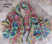 Free shipping  180*95 cms Viscose blends scarf  Fashion printed shawls Cheap printing scarves  Muslim Hijab Quality Shawl