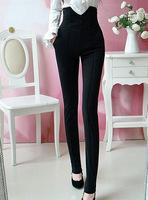 2014 New Fashion Hot Selling High Street OL Slim High-waist Big Size Formal Trousers for Women Long Women Pants