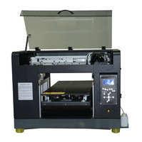 High Quality Digital Flatbed Printer A3 plus Size 6 Colors Printer For metal and non-metal material