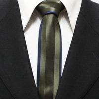 Mens Bordered Popular Skinny Novelty Neckties For Man Bronze Stylish Neck Ties Gravatas 5CM F5-F-14