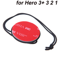 Camera Accessories Tether Strap with 3M Sticker Mount for Gopro Hero 3+ 3 2 1 ST-21