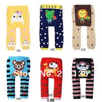 2014 new Cute Baby Boys Girls cotton PP pants Toddler warmer Trousers kids Children cartoon legging ultra elastic tights socks