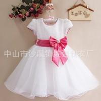 Fashion girls dress girls shortsleeve ball gown dress princess dress kid's dresses CD2