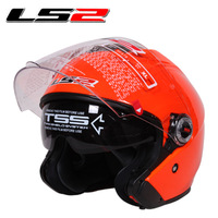 Ls2 helmet ls2 motorcycle helmet ls2 OF578 lens double electric bicycle spring and autumn