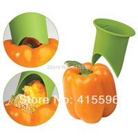 Green Pink Yellow Colors Nordic Nylon Pepper Corer Tomato Corer Creative Kitchen Tools + Free Shipping Random Color