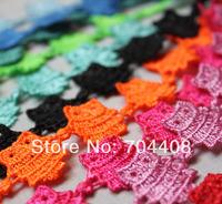 Fashion 2014 bracelet  Mens Multi color OWL Cuff Jewelry Italy Lace Macrame Bracelet 90pcs/LOT wholesale