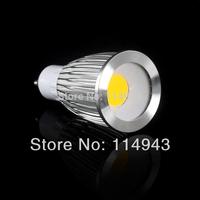20pcs plane mirror 5W 7W 9W GU10 COB Led Spot Light Spotlight Bulb Lamp High Power Lamps AC85-265V 3 Years Warranty