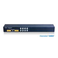 ETV8D rack-mounted 8chs video transmission, twisted pair transmission, Passive Twisted Pair Transmitter, CCTV video Receiver