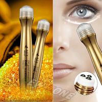 24K Gold Essence Repair Eye Ball cream anti aging dark circle wrinkles moisturizing gold activate eye cream massage 10ML 2PCS