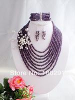 NEW! hot sale!! Fashion crystal jewelry set MW-696
