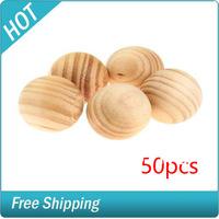 50 X Fragrant Cedar Wood Moth Balls Protection  #775110001