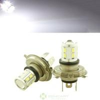 16 LED 5730 SMD 5W H4 White Car  Fog Driving Parking Light Lamp Bulb DC 12~18V