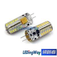 10PCS/LOT G4 48 3014 SMD Pure And Warm White AC12V 3.5W Angle360 LED LAMP