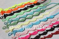 Min. order 19$ (mix item) wholesale Girls brand bracelet multi colors Wing elegant lace macrame bracelet jewelry