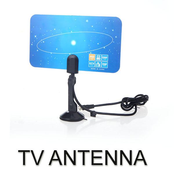 Digital Indoor TV Antenna HDTV DTV HD VHF UHF Flat Design High G