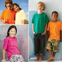 Retail 1 /piece 100% Cotton Short Sleeve T-shirt Kids Tshirts Blank Tops