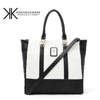 100% genuine Kardashian kollection kk bag handbags designers brand kk handbag new 2014 women  messenger  bags black and white