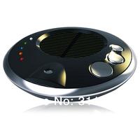 Solar Anion Car Air Purifier Oxygen Bar Auto Air Fresh Ozone Ionizer Cleaner