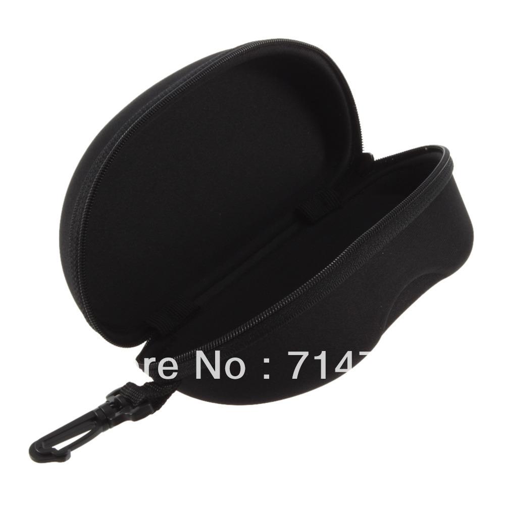 1pcs Hard Case Box Compression Eye Glasses Storage Sunglasses Protector black New Hot Selling(China (Mainland))