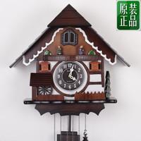 Kairos fashion musical alarm clock cuckoo clock photoswitchable sitting room mute wall clock