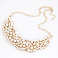 2014 New fashion jewelry Venetian pearl Necklaces & Pendants for women