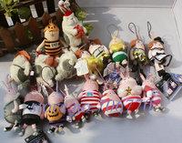 IN HAND!! LOT Free Shipping 4pcs/set Random choose Style High Quality Stuffed Plush Cute USAVICH 10cm  plush doll/key chain