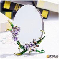 Fashion rustic table mirror makeup mirror vanity mirror princess mirror desktop