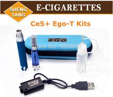 CE5+ Kits 650mah 900mah 1100mah Electronic Cigarette E-cigarette E-cig Kits Colorful Atomizer Colorful Battery Kits Case Instock