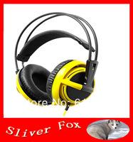 TOP New Free Shipping Gaming Headset Headphones Steelseries Siberia V2 Full-Size of Champion Fnatic Dota 2 LOL