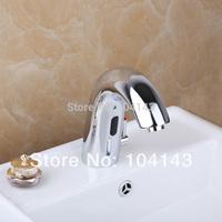 Modern Design Higher Quality Hot & Cold Auto Sensor Tap Bathroom Basin Sink Faucet LJ-89013/5