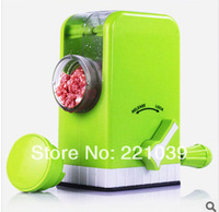 2014 New Manual Meat grinder fruit grinder sausage maker machine kitchen helper free of shipping