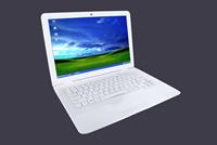 Promotion 13.3 inch Ultrabook Laptop Notebook Computer Windows 7 Intel Atom D2500 1.86Ghz 2GB RAM 160GB WiFi Free Shipping
