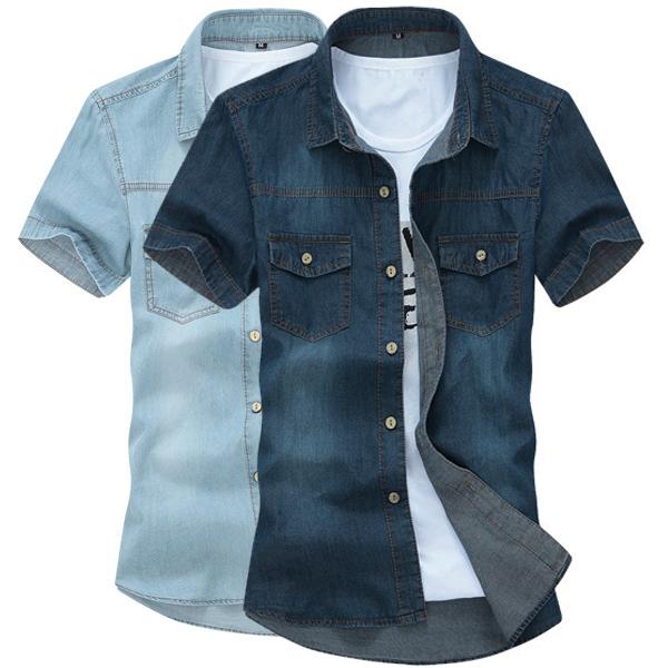 Cotton Jeans Shirts Denim Shirt 100%cotton
