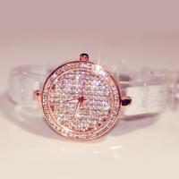 B80 rhinestone white ceramic table mantianxing watches fashion lady austria crystal fashion table
