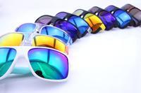 2014 NEWS STYLE 9 colors frame  10pcs a lot oculos de sol Arnette Men's  Daze Square Cycling Sports Sunglasses