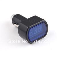 1pcs DC 12V-24V LED Display Cigarette Lighter Electric Voltage Meter tester For Auto Car Battery  Hot New
